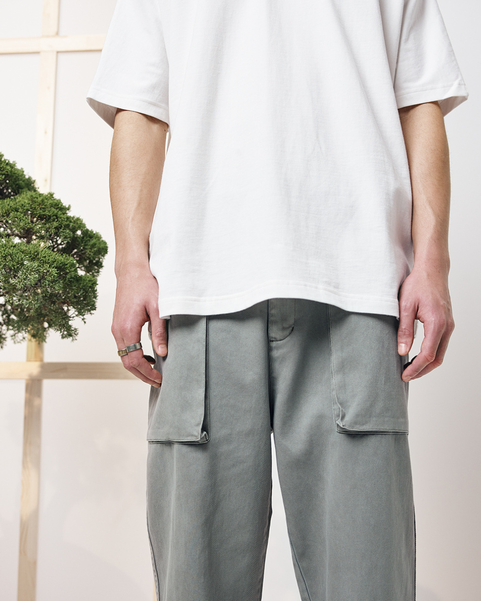 Relaxed Cotton Pants