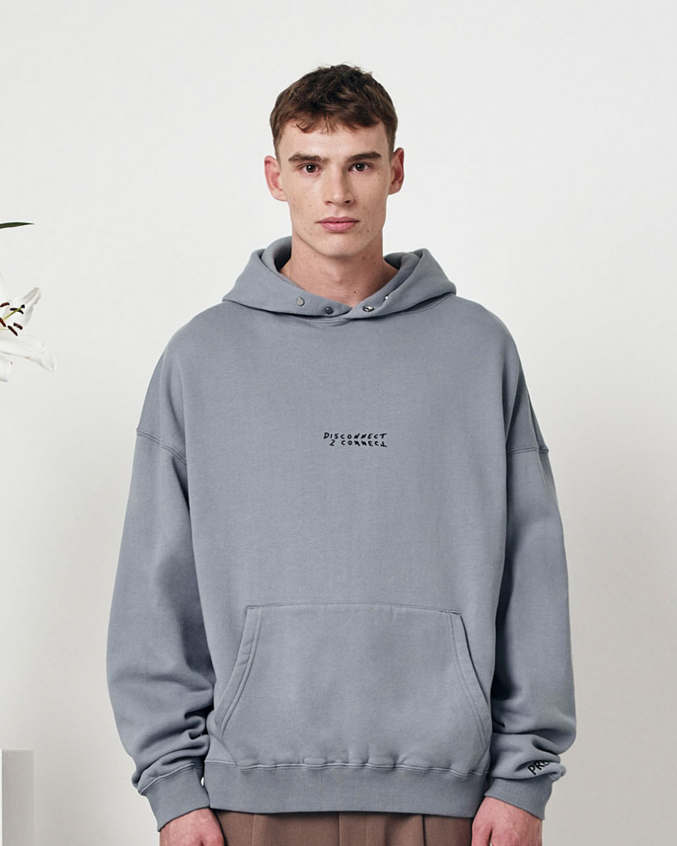 Oversized Embroidered Logo H