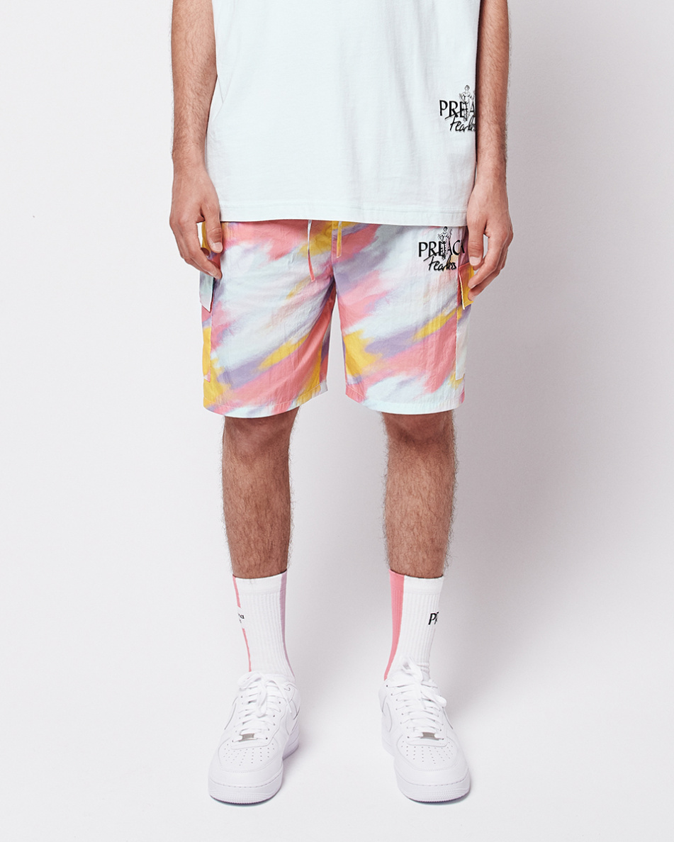 Soaked Colors Shorts