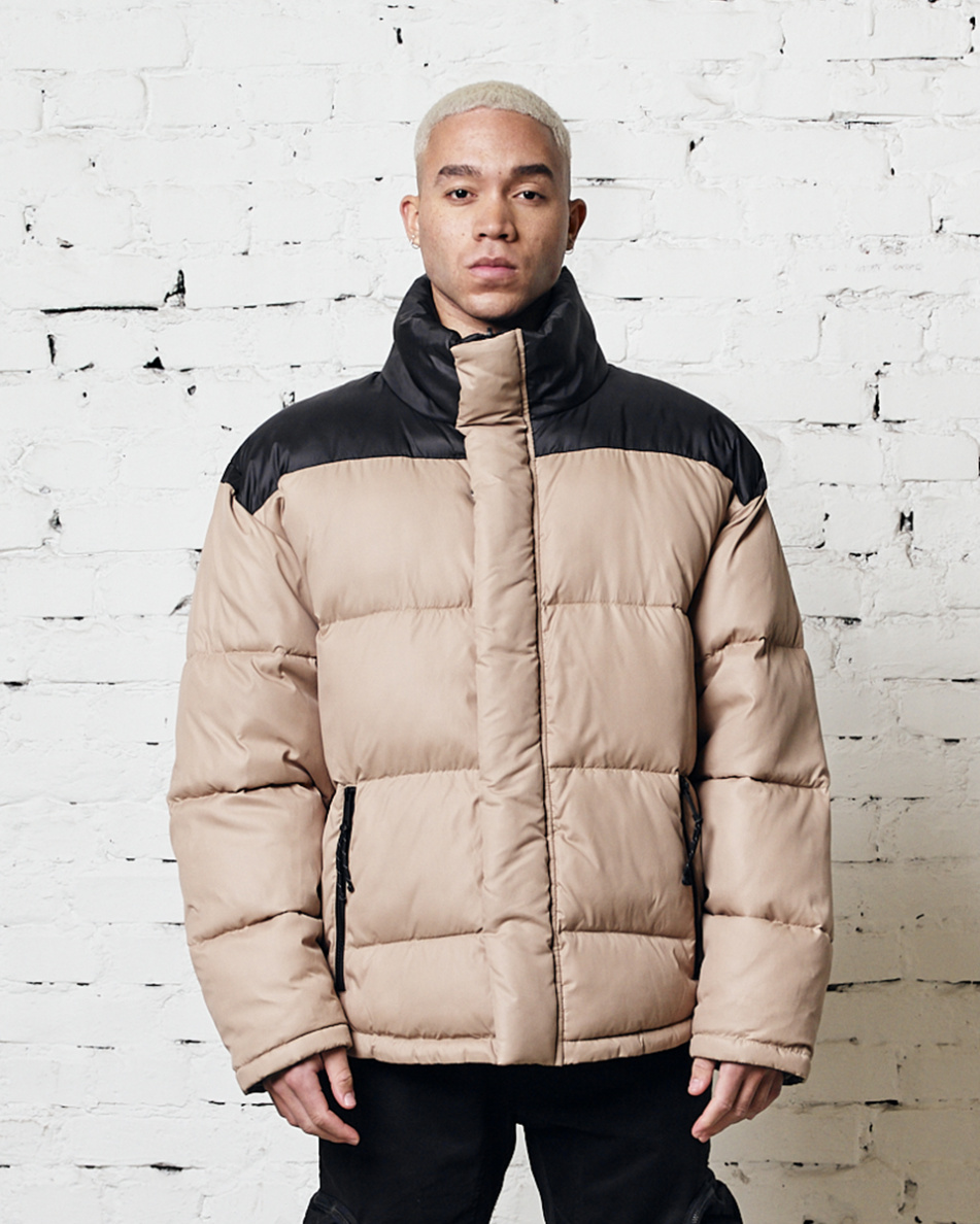 Reversible Oversized Puffer Jacket