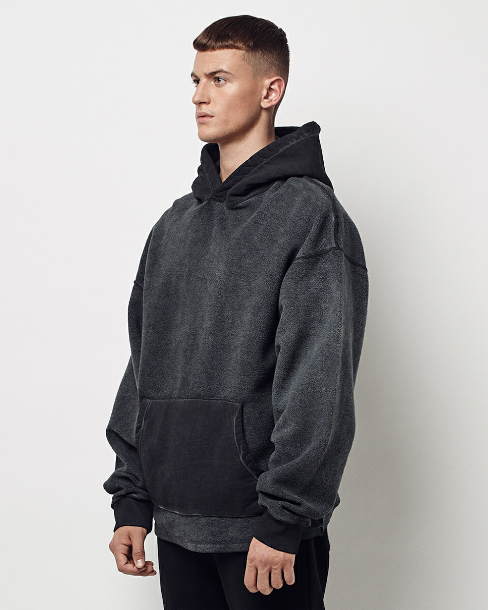 Oversized Inside Out Hoodie