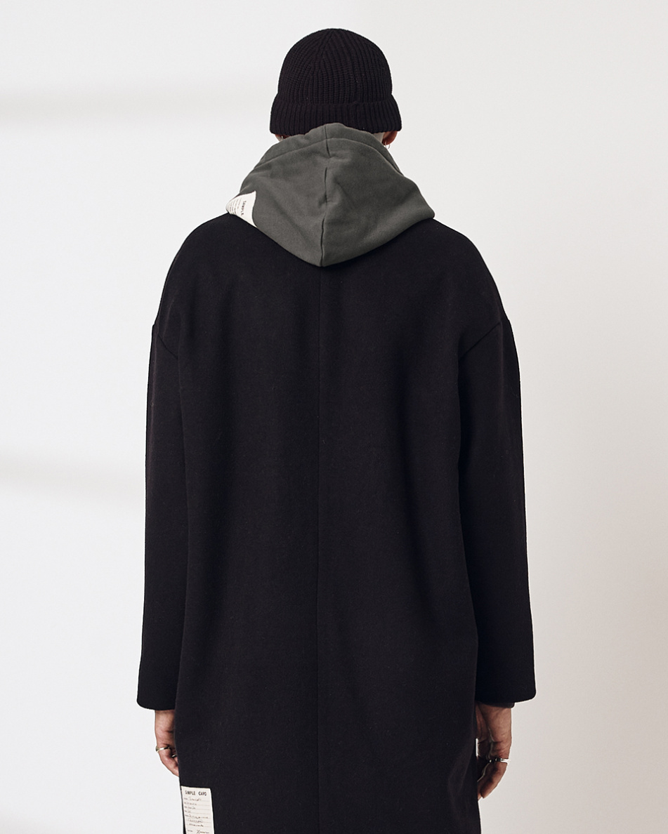 Oversized Woolen Coat