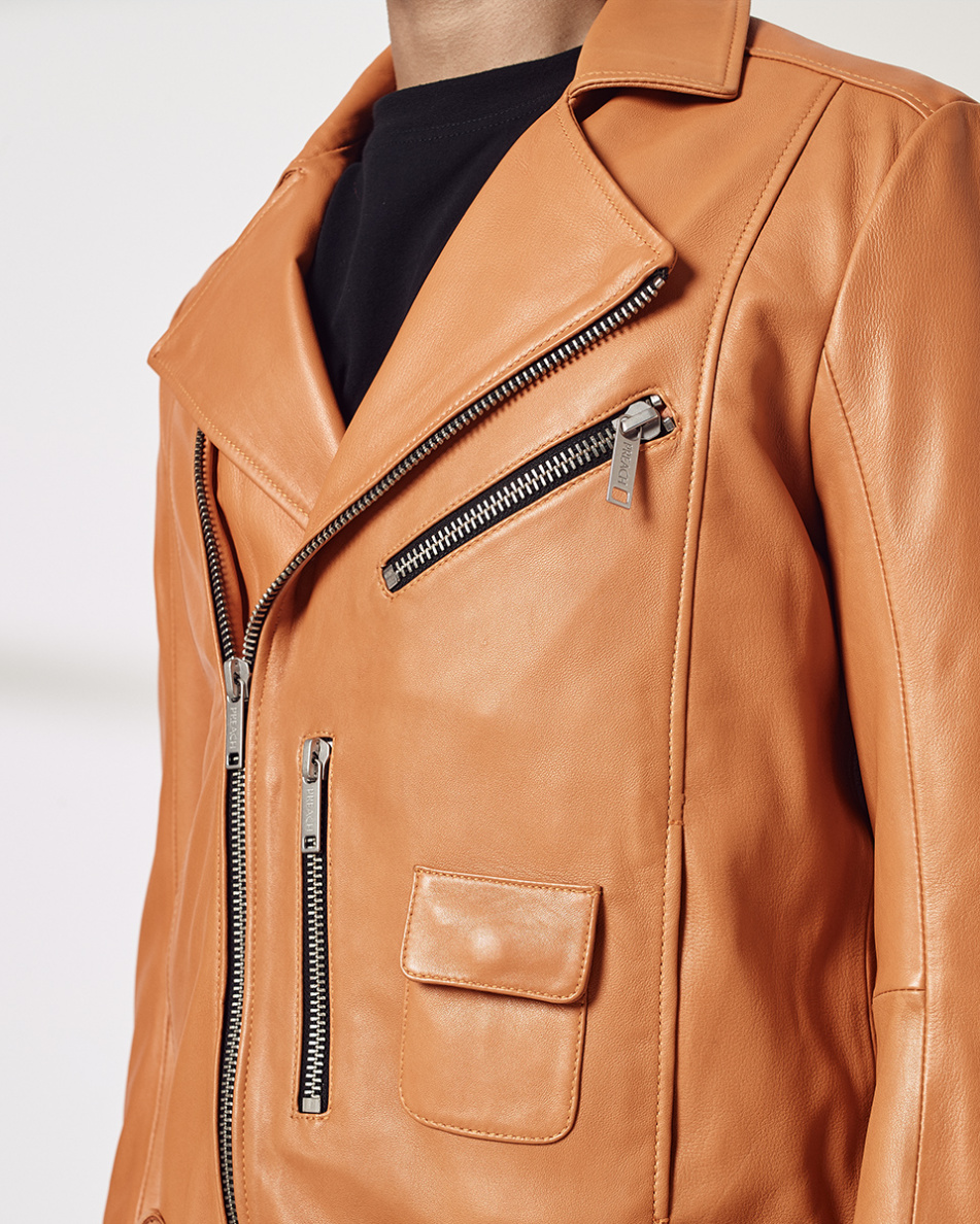Essential Leather Jacket